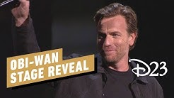 Obi-Wan Series Stage Reveal with Ewan McGregor - D23 2019