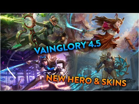 Vainglory 4.5 | Miho And New Skins