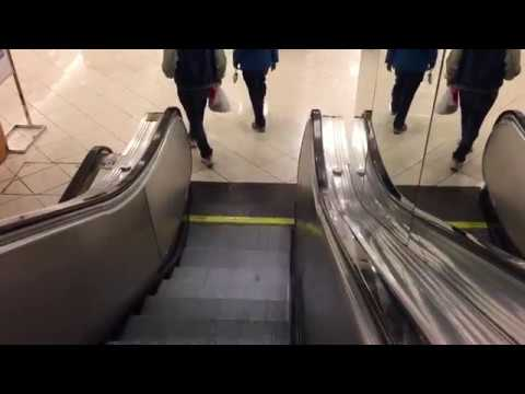 Vintage Westinghouse Escalators @ Macy's Menlo Park Mall Edison NJ