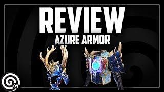 AZURE STARLORD Armor Set Review | Monster Hunter World