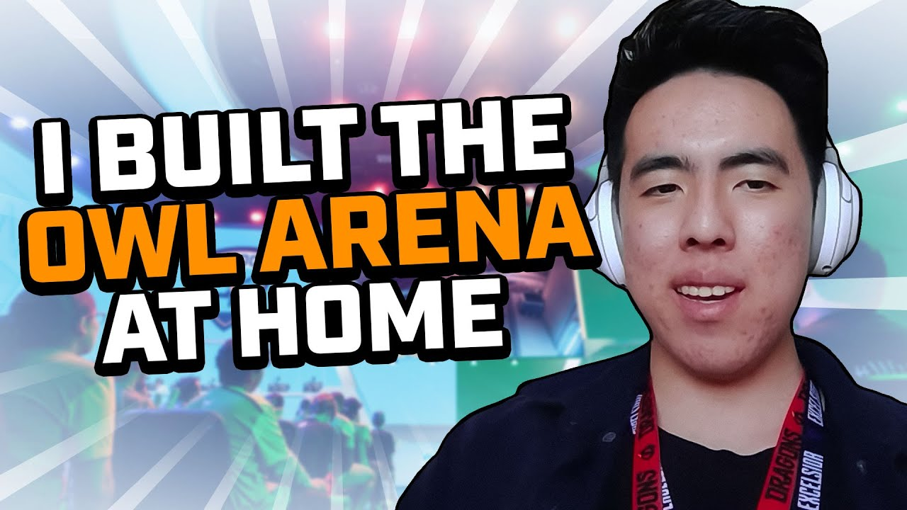 Fan Builds OWL Arena AT HOME 🤯?! | CocaCola Community Features