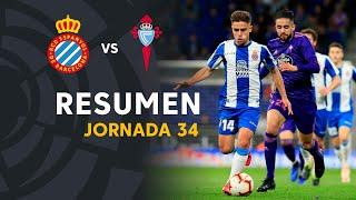 Resumen de RCD Espanyol vs RC Celta (1-1)