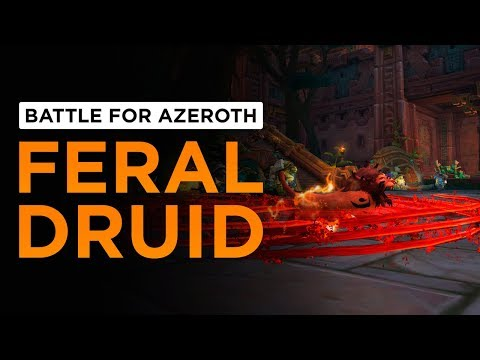 Feral Druid | WoW: Battle for Azeroth - Alpha [1st Pass]