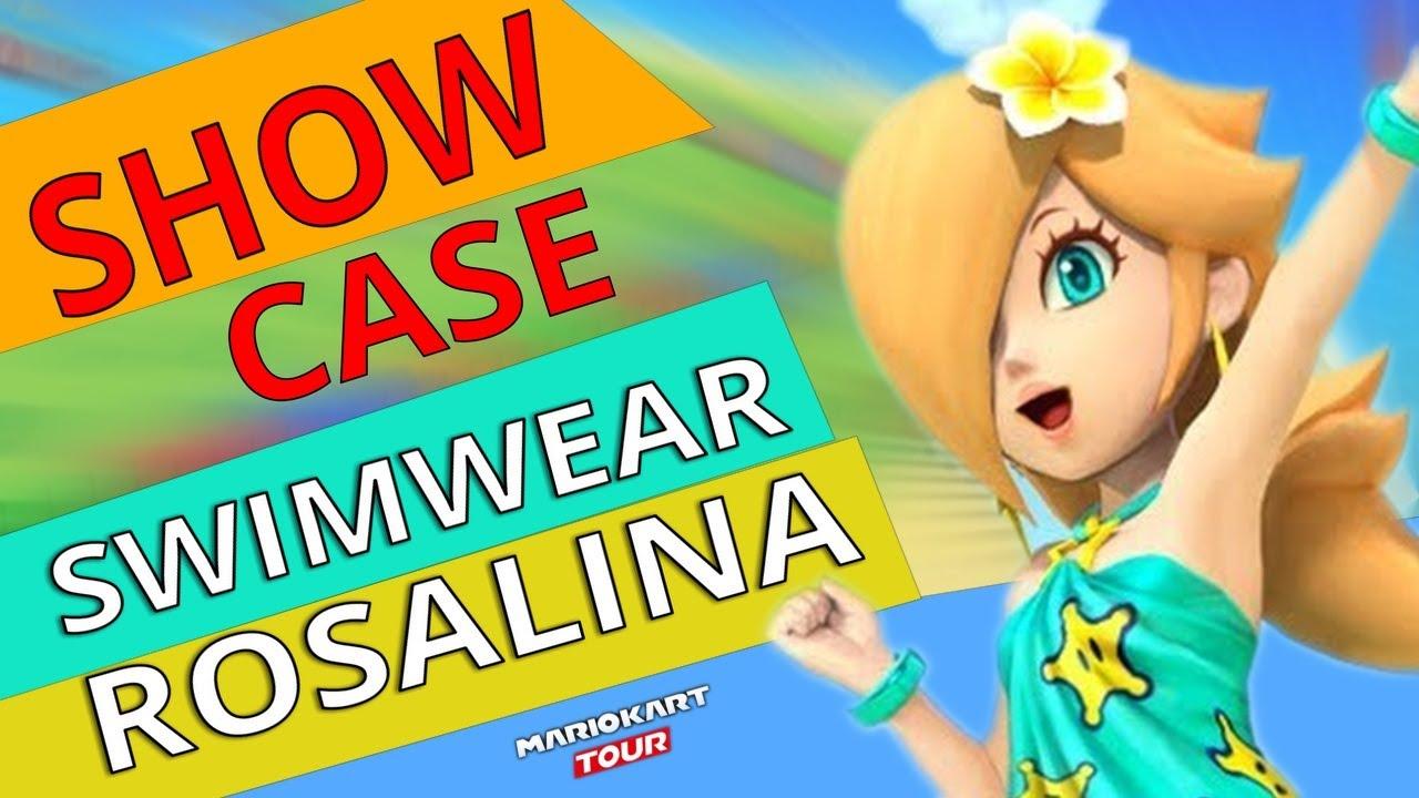 mario kart tour rosalina swimwear