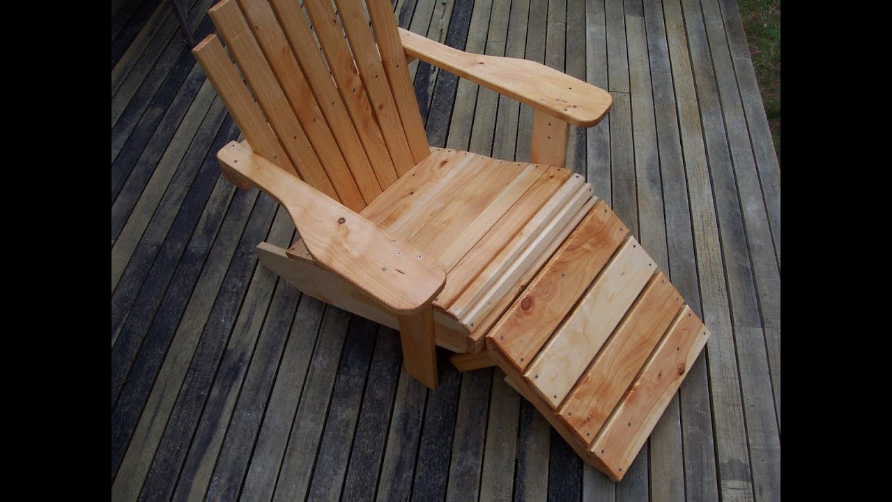 Genial How To Build A Cape Cod / Adirondack Chair   YouTube