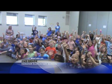 Rob Fowler visits the 2nd graders at Hanahan Elementary School