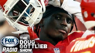 Doug Gottlieb Says the NFL Deserves Credit for Not Suspending Tyreek Hill