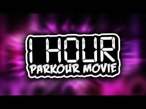 1 HOUR LONG PARKOUR MOVIE ( Minecraft Parkour Through History Map w/ Preston & Woofless )