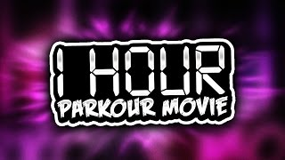 1 HOUR LONG PARKOUR MOVIE ( Minecraft Parkour Through History Map w/ Preston & Woofless )