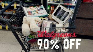 HURRY! Update 90% off CLEARANCE  @ Walgreens!