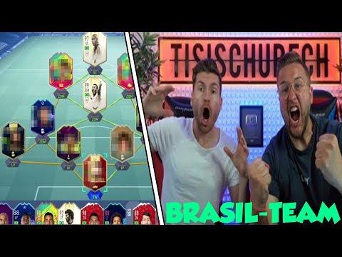 DAS HEFTIGE neue OP-TEAM mit PELE & RONALDO!!!😱🔥 | FIFA 19 Tisi Schubech STREAM HIGHLIGHTS