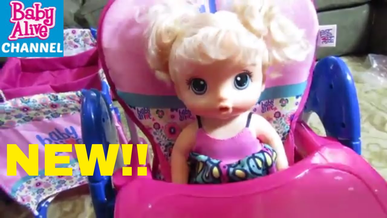 baby alive high chair salon chairs wholesale unboxing new up n down doll bittybabychannel babyalivedollsandtoys babyalivechannel