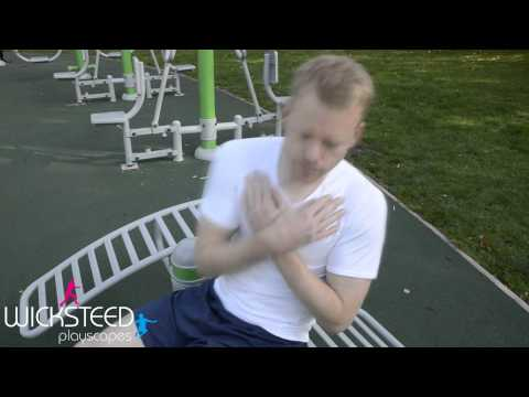 Sit Up Benches - Outdoor Gym Equipment