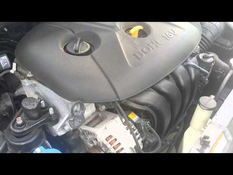 2012 Hyundai Elantra Grinding Noise on Cold Startu