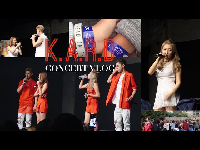 K.A.R.D WILD KARD Tour in Rotterdam 2017    Concert Vlog [FULL FANCAM]