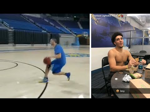 Liangelo Ball SHOWS OFF His New Moves :: Liangelo Ball UCLA Workout