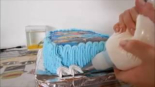Como Decorar bolo da Frozen #Culinária com Angelica Mendes