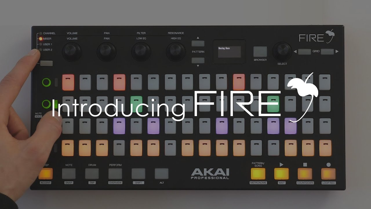 FL STUDIO FIRE | Introducing Akai FIRE - YouTube
