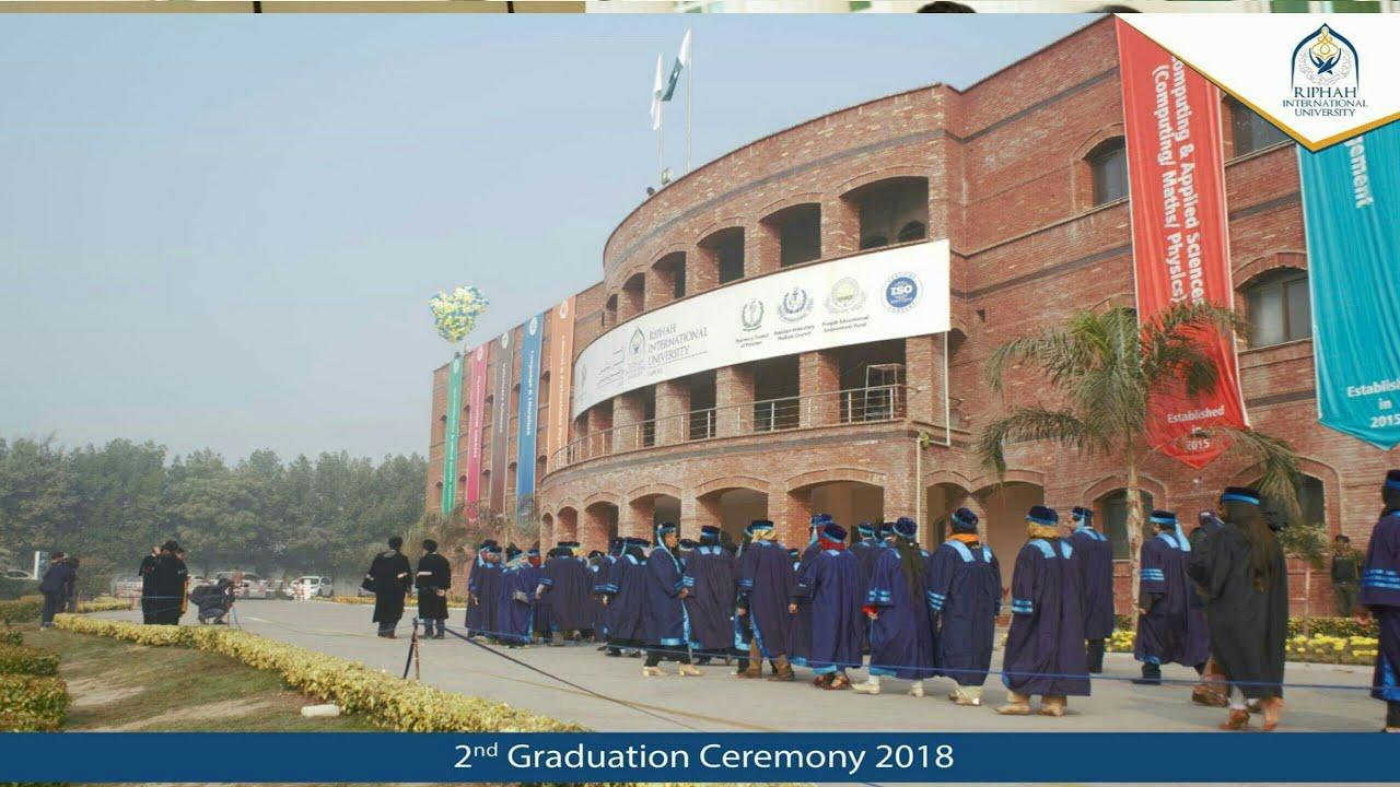 Riphah International University, Lahore 2nd Graduation Ceremony Riphah