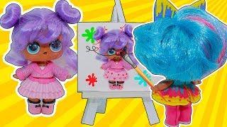 Куклы Лол Мультик! КАПРИЗНЫЙ КЛИЕНТ у Кляксы и Детский сад для Lol Surprise Dolls Видео для детей
