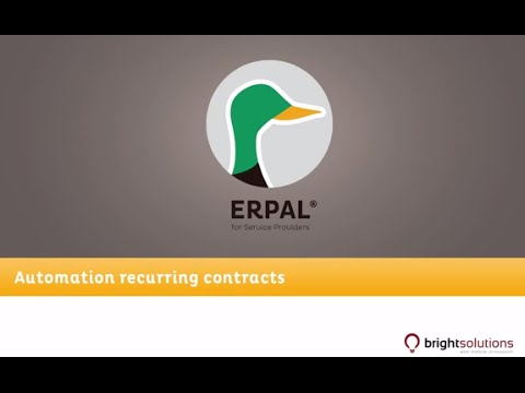 05 ERPAL for Service Providers - Contract automation