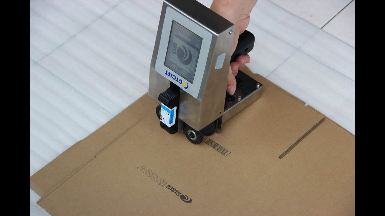 Cheapest Carton Box Handheld Inkjet Printer Hand Jet