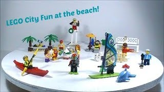 Review- LEGO City Fun at the beach People Pack 60153