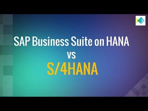 S/4 HANA vs SAP Business Suite on HANA