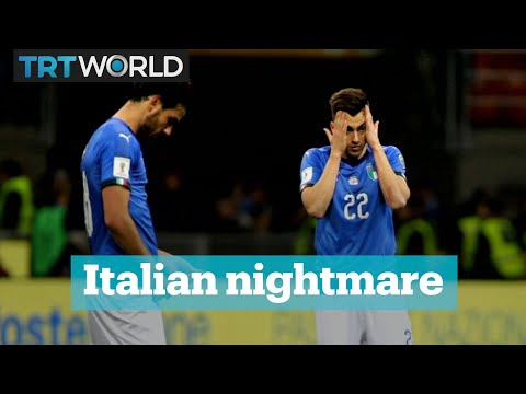 Italy is heartbroken after failing to qualify for the World Cup