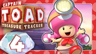 🔴 CAPTAIN TOAD: TREASURE TRACKER 🍄 #4: Captain Toadette Treasure Tracker