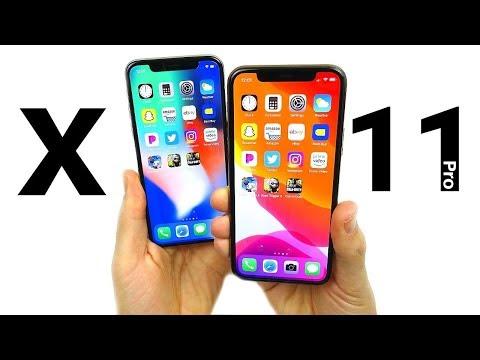 IPhone X Vs IPhone 11 Pro Speed Test!