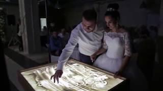 Песочное шоу на свадьбе в Саранске
