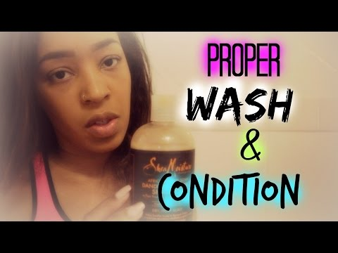 Secret to Long Healthy Hair | Proper Wash & Condition