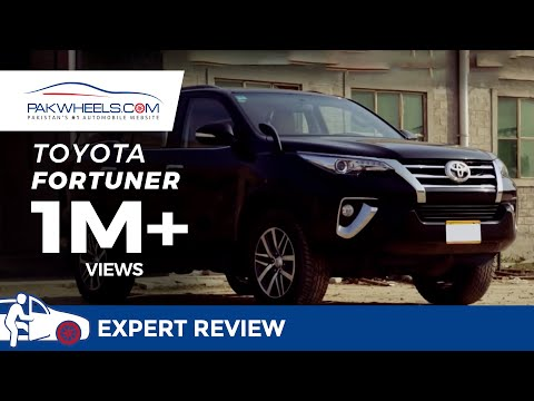 Toyota Fortuner Detailed
