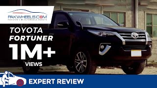 Toyota Fortuner Detailed Review: Price, Specs & Features | PakWheels