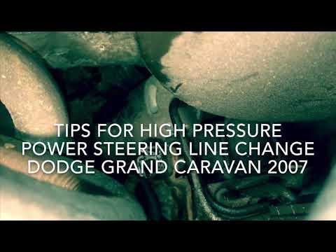Fix: Tips High Pressure Power Steering Line Dodge Grand Caravan
