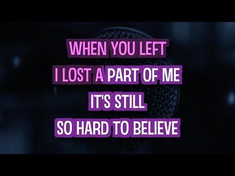 We Belong Together Karaoke Version by Mariah Carey (Video with Lyrics)