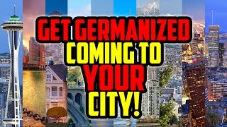 Get Germanized In YOUR City ★ Make It Happen!