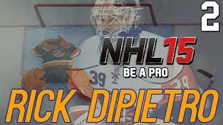 "NHL 15 - Be A Pro: Rick DiPietro ep. 2 - ""Goalie Interference!"""