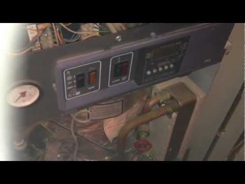 Potterton Powermax boiler repair - new pressure vessel, pressure switch and AAV.