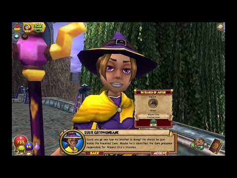 Let's Play! Wizards 101 (Part 6) Triton Avenue!