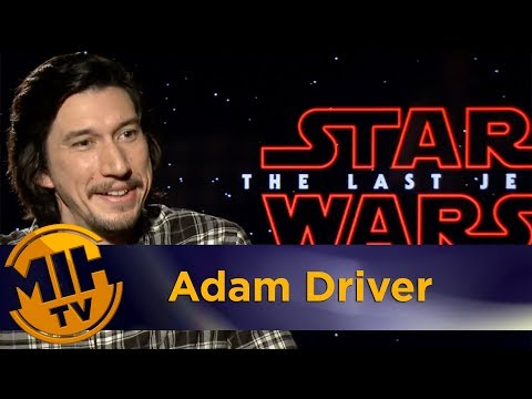 Adam Driver Star Wars: The Last Jedi Interview