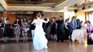 Andrea and Tai's first dance