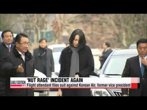 Korean Air flight attendant sues former executive over ′nut rage′ incident   ′땅콩