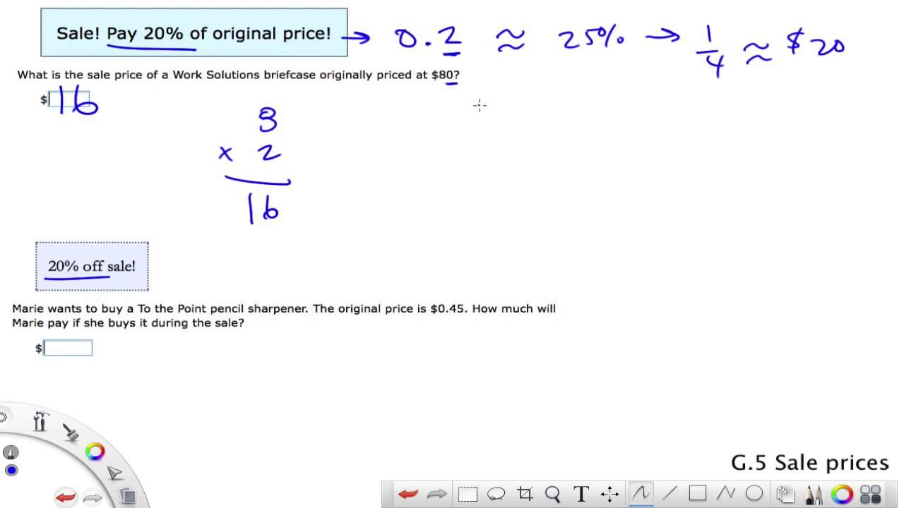 IXL Grade 6 G.5 Sale Prices - YouTube