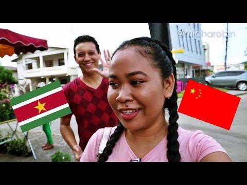 VLOG: Chinese Food Markets and Dim Sum || SURINAME || MICHAROBIN