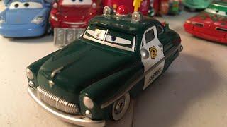 Disney Cars Christmas Sheriff diecast review