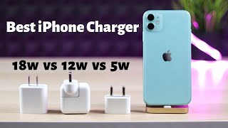 Gambar cover Best iPhone fast charger 18w vs 12w vs 5w