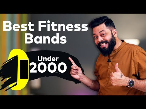 Best Smart Fitness Bands Under 2000 ⚡⚡⚡ January 2020