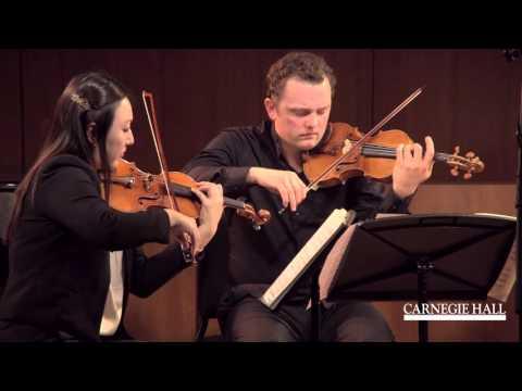 Varian Fry Quartett: Webern Five Pieces, Op. 5 (II. Sehr Langsam)